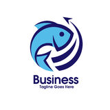 Διάνυσμα λογότυπων θαλασσινών Στοκ Εικόνες