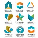 Διάνυσμα λογότυπων Στοκ εικόνες με δικαίωμα ελεύθερης χρήσης
