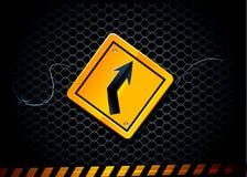 διάνυσμα οδικών σημαδιών Στοκ Εικόνα