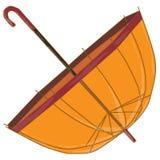 Διάνυσμα ομπρελών που απομονώνεται Στοκ Εικόνα