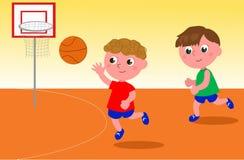 Διάνυσμα παίχτης μπάσκετ Στοκ εικόνες με δικαίωμα ελεύθερης χρήσης