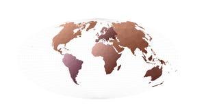 Διάνυσμα παγκόσμιων χαρτών διανυσματική απεικόνιση