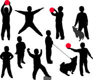 διάνυσμα παιδιών Στοκ φωτογραφίες με δικαίωμα ελεύθερης χρήσης