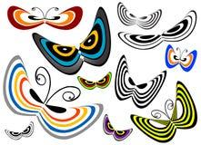 διάνυσμα πεταλούδων διανυσματική απεικόνιση