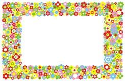διάνυσμα πλαισίων λουλ&omic Στοκ φωτογραφίες με δικαίωμα ελεύθερης χρήσης