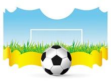 διάνυσμα ποδοσφαίρου αν Στοκ φωτογραφία με δικαίωμα ελεύθερης χρήσης