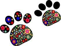 Διάνυσμα ποδιών της Pet Στοκ εικόνες με δικαίωμα ελεύθερης χρήσης