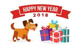 Διάνυσμα προτύπων εμβλημάτων πώλησης σκυλιών Χριστουγέννων Ανακοίνωση πώλησης διακοπών Απομονωμένος στην άσπρη απεικόνιση απεικόνιση αποθεμάτων