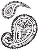 διάνυσμα προτύπων του Paisley απ& απεικόνιση αποθεμάτων