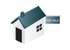 διάνυσμα πώλησης σπιτιών ελεύθερη απεικόνιση δικαιώματος