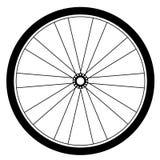 Διάνυσμα ροδών ποδηλάτων διανυσματική απεικόνιση