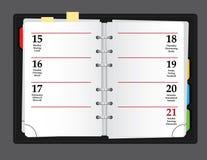 διάνυσμα σημειωματάριων Στοκ εικόνα με δικαίωμα ελεύθερης χρήσης