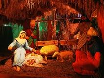 διάνυσμα σκηνής nativity απεικόνισης Χριστουγέννων στοκ φωτογραφία με δικαίωμα ελεύθερης χρήσης