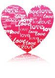 διάνυσμα συμβόλων καρδιών Στοκ εικόνα με δικαίωμα ελεύθερης χρήσης