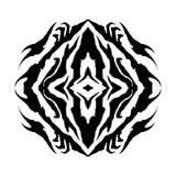 διάνυσμα συμβόλων σαμάνων ματιών glyph Στοκ εικόνα με δικαίωμα ελεύθερης χρήσης