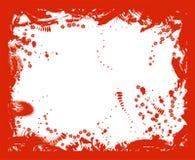 διάνυσμα συνόρων grunge ελεύθερη απεικόνιση δικαιώματος