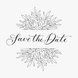Διάνυσμα συρμένων του χέρι στοιχείου και του αντικειμένου σχεδίου Εκλεκτής ποιότητας floral στοιχείο ξανθή νυφική φορεμάτων γαμήλ Στοκ εικόνα με δικαίωμα ελεύθερης χρήσης