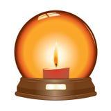 διάνυσμα σφαιρών κεριών Στοκ Εικόνα