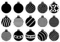 Διάνυσμα σφαιρών Χριστουγέννων Στοκ Εικόνες