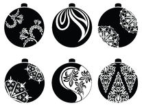 Διάνυσμα σφαιρών Χριστουγέννων Στοκ φωτογραφίες με δικαίωμα ελεύθερης χρήσης