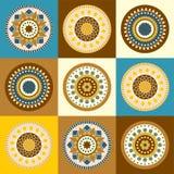 διάνυσμα σχεδίου χρώματος κύκλων Στοκ φωτογραφία με δικαίωμα ελεύθερης χρήσης
