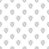Διάνυσμα σχεδίων Facial spa επεξεργασίας άνευ ραφής ελεύθερη απεικόνιση δικαιώματος