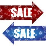 Διάνυσμα σχεδίου αφισών πώλησης έκπτωσης Χριστουγέννων Στοκ εικόνα με δικαίωμα ελεύθερης χρήσης