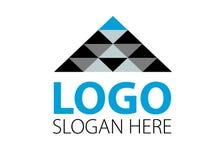 Διάνυσμα - σύγχρονο λογότυπο επιχειρησιακής επιχείρησης χρηματοδότησης, που απομονώνεται στο άσπρο υπόβαθρο επίσης corel σύρετε τ Στοκ φωτογραφίες με δικαίωμα ελεύθερης χρήσης