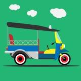 Διάνυσμα ταξί της Ταϊλάνδης Tuk tuk Στοκ φωτογραφίες με δικαίωμα ελεύθερης χρήσης