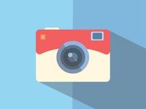 Διάνυσμα της κάμερας εικονιδίων στοκ φωτογραφία