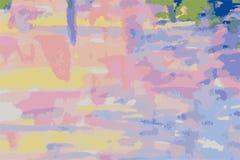 Διάνυσμα του αφηρημένου watercolor σε χαρτί αφηρημένο χρώμα Στοκ Φωτογραφίες