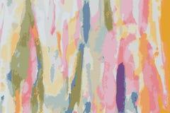 Διάνυσμα του αφηρημένου watercolor σε χαρτί αφηρημένο χρώμα Στοκ Φωτογραφία