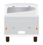 Διάνυσμα του εκλεκτής ποιότητας επιβάτη van car Στοκ φωτογραφία με δικαίωμα ελεύθερης χρήσης