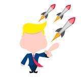 Διάνυσμα του Ντόναλντ Τραμπ Στοκ φωτογραφία με δικαίωμα ελεύθερης χρήσης