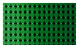 Διάνυσμα του πράσινου σχεδίου υποβάθρου τριγώνων Στοκ Εικόνες