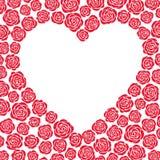 διάνυσμα τριαντάφυλλων κ&a Στοκ Εικόνες