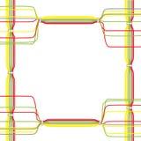 Διάνυσμα των καλωδίων χρώματος Στοκ Φωτογραφία