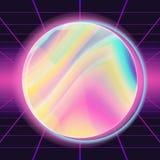 διάνυσμα υποβάθρου της δεκαετίας του '80 Για το καθιερώνον τη μόδα σύγχρονο σχέδιο Ουράνιο τόξο παρουσίασης νέου απεικόνιση απεικόνιση αποθεμάτων