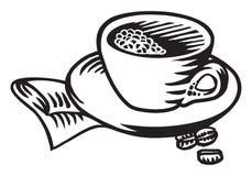 διάνυσμα φλυτζανιών καφέ διανυσματική απεικόνιση