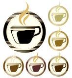 διάνυσμα φλυτζανιών καφέ απεικόνιση αποθεμάτων