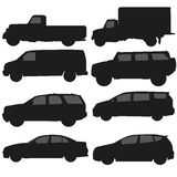 Διάνυσμα φορτηγών αυτοκινήτων Στοκ Φωτογραφία