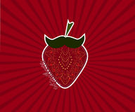 Διάνυσμα φραουλών Στοκ Εικόνες
