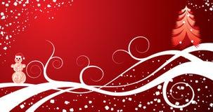 διάνυσμα Χριστουγέννων ανασκόπησης ελεύθερη απεικόνιση δικαιώματος
