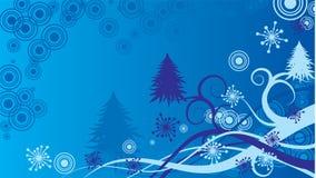 διάνυσμα Χριστουγέννων ανασκόπησης Στοκ εικόνες με δικαίωμα ελεύθερης χρήσης