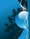 διάνυσμα Χριστουγέννων ανασκόπησης Στοκ Φωτογραφία