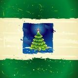 διάνυσμα χριστουγεννιάτικων δέντρων Στοκ Φωτογραφίες