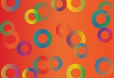 διάνυσμα χρώματος κύκλων Στοκ εικόνες με δικαίωμα ελεύθερης χρήσης