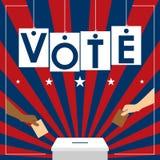 Διάνυσμα ψηφοφορίας Στοκ εικόνες με δικαίωμα ελεύθερης χρήσης