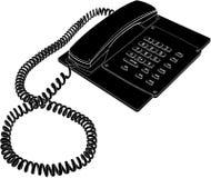 διάνυσμα 02 τηλεφώνων Στοκ εικόνα με δικαίωμα ελεύθερης χρήσης