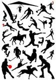 διάνυσμα 2 αθλητισμού συλλογής Στοκ εικόνα με δικαίωμα ελεύθερης χρήσης
